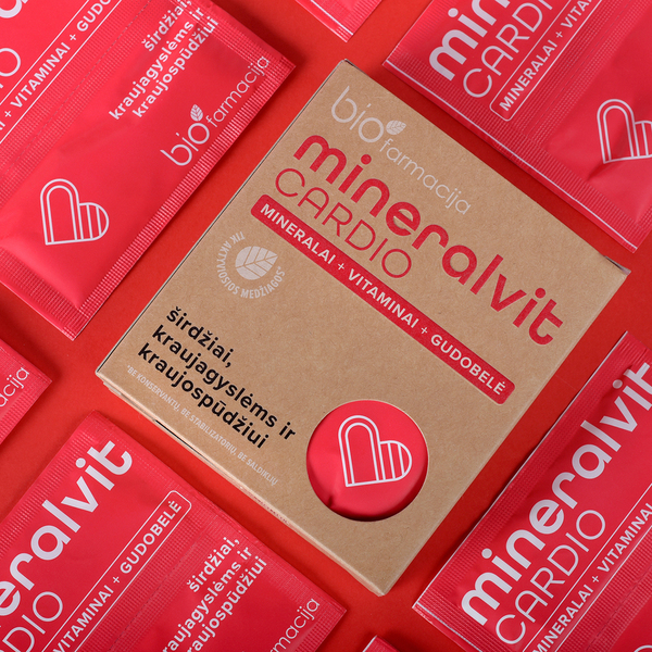 mineral cardio packaging design